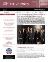 This client newsletter is an example of TGI's turnkey services – it designs and coordinates printing and mailing of the piece, and prepares an electronic version for the client's website.